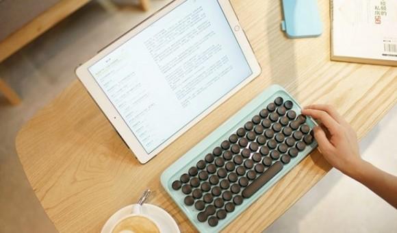 Lofree — мобильная клавиатура для тех, кто привык к печатной машинке