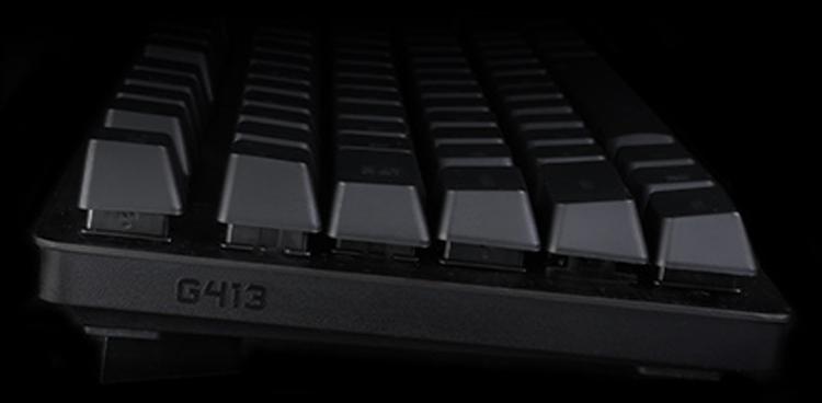 Logitech представила новую игровую клавиатуру с подсветкой G413 – фото 1