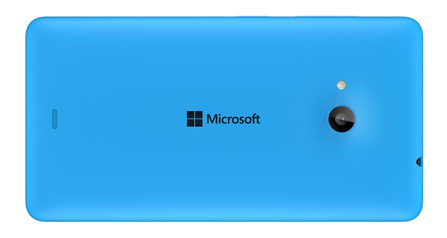 Lumia 535 Back Cyan-Задняя панелька