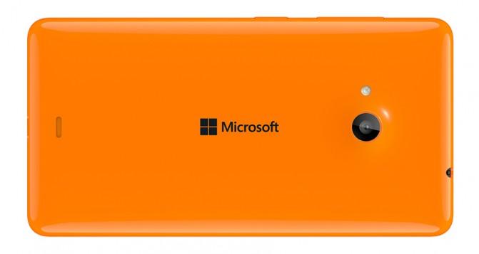 Lumia 535 Back Orange-Задняя панелька