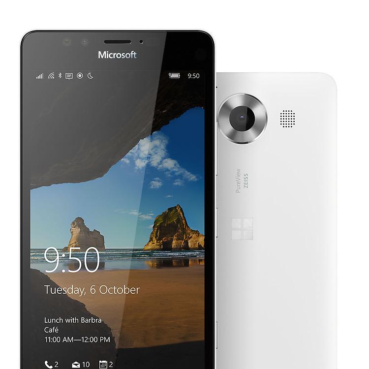 Lumia 950- Два ракурса