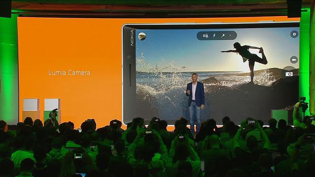 Lumia Denim-приложение Nokia Camera