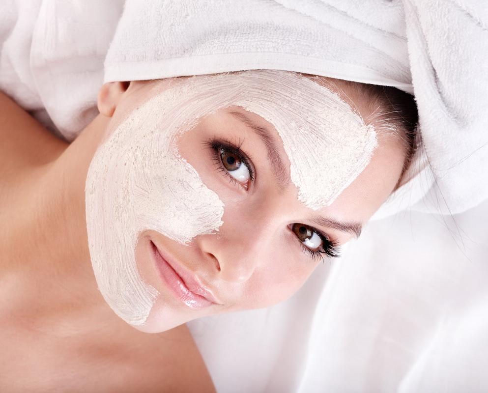 Маска для лица-косметические процедуры