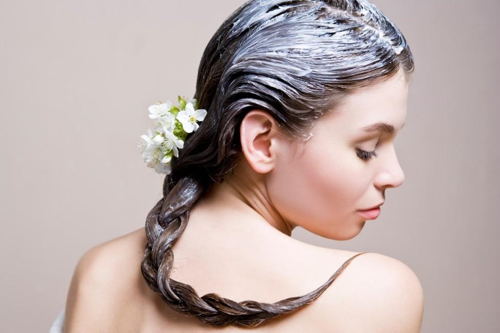 Маска для волос из йогурта