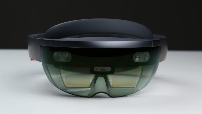 Microsoft HoloLens-очки смешанной реальности