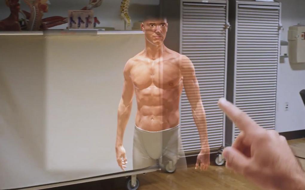 Microsoft HoloLens-в медицине при обучении