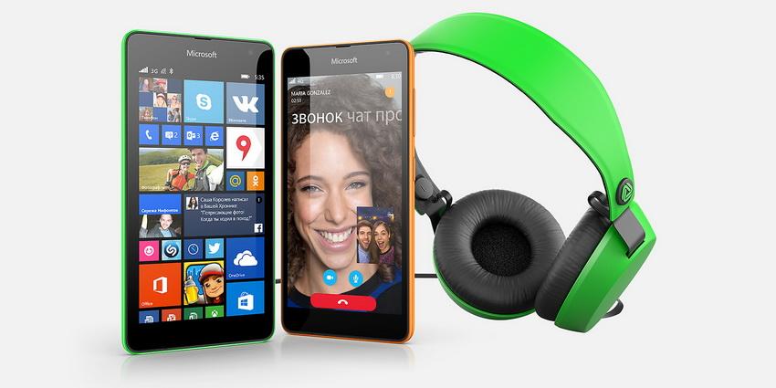 Microsoft Lumia 535-Аксессуары