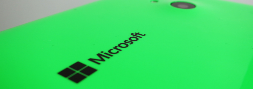 Microsoft Lumia 535-Логотип