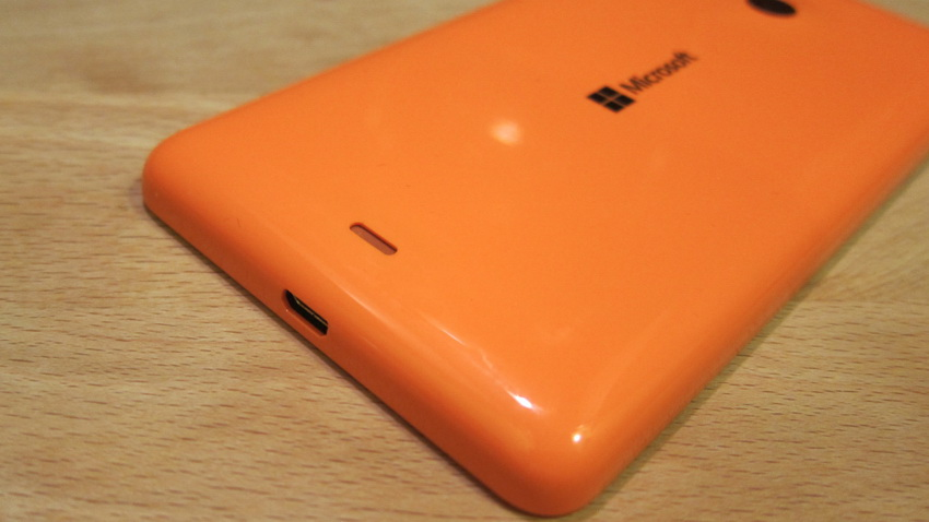 Microsoft Lumia 535 Orange-разъем microUSB