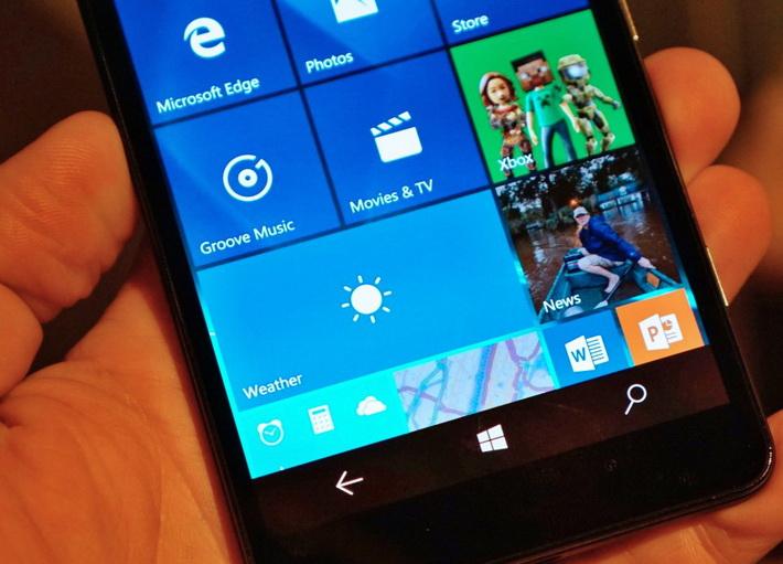Microsoft Lumia 950- Экран