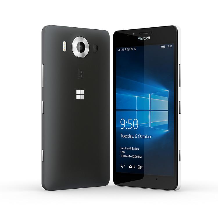 Microsoft Lumia 950-Два ракурса