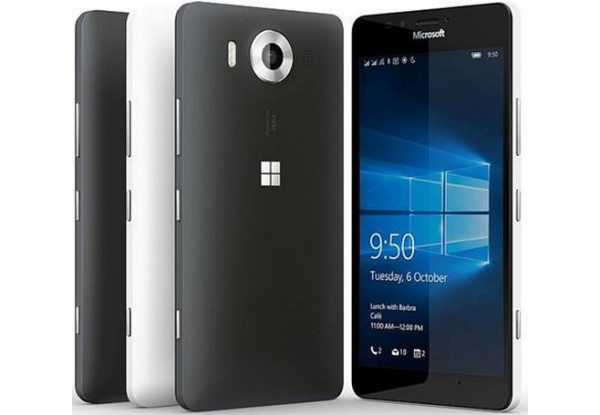 Microsoft Lumia 950-Экран Задняя панель Торец