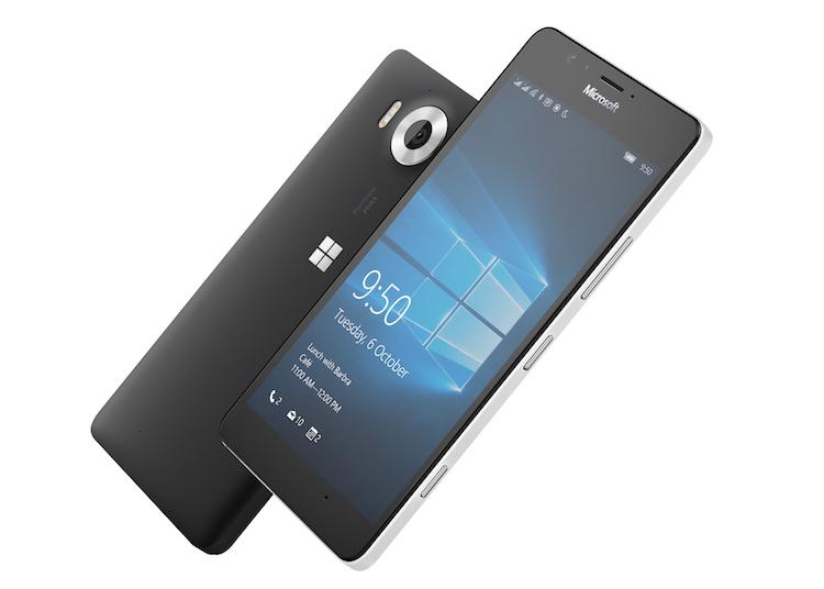 Microsoft Lumia 950- Экран и Тыл