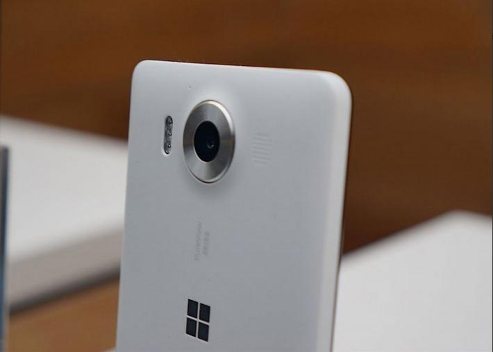 Microsoft Lumia 950-Камера