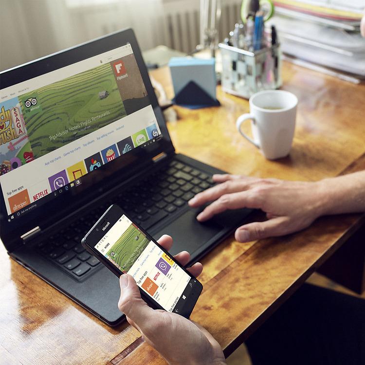 Microsoft Lumia 950- Магазин Windows