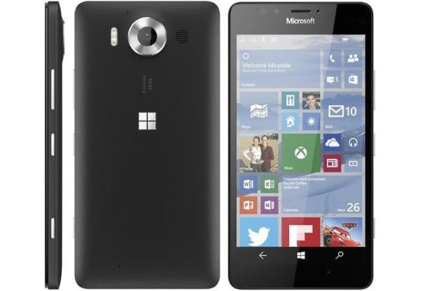 Microsoft Lumia 950-Три ракурса