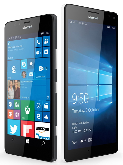 Microsoft Lumia 950 и Lumia 950XL-Дизайн