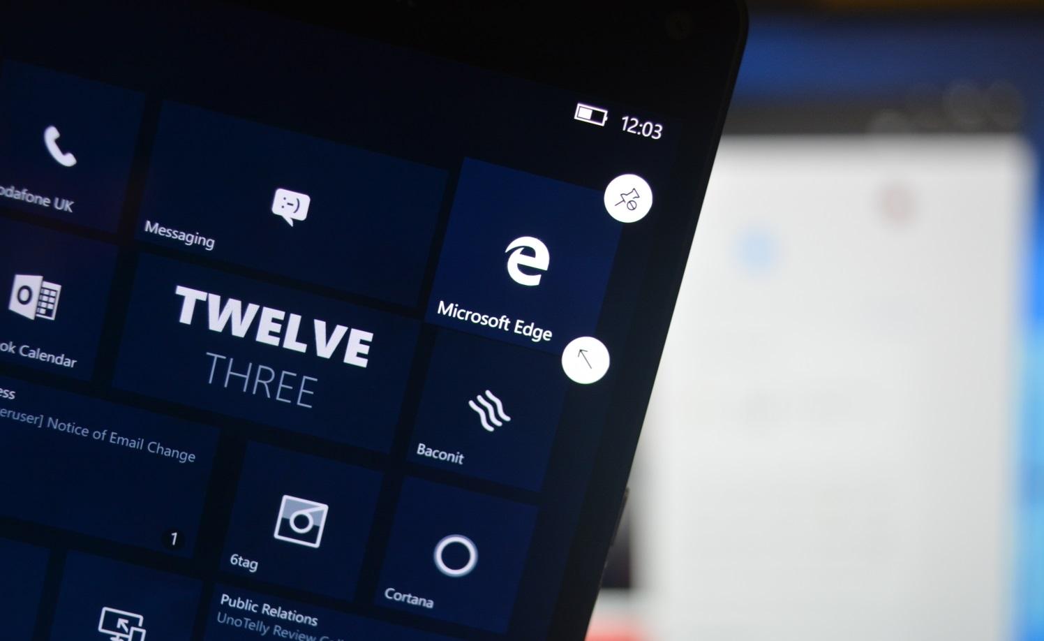 Microsoft Windows 10 Edge
