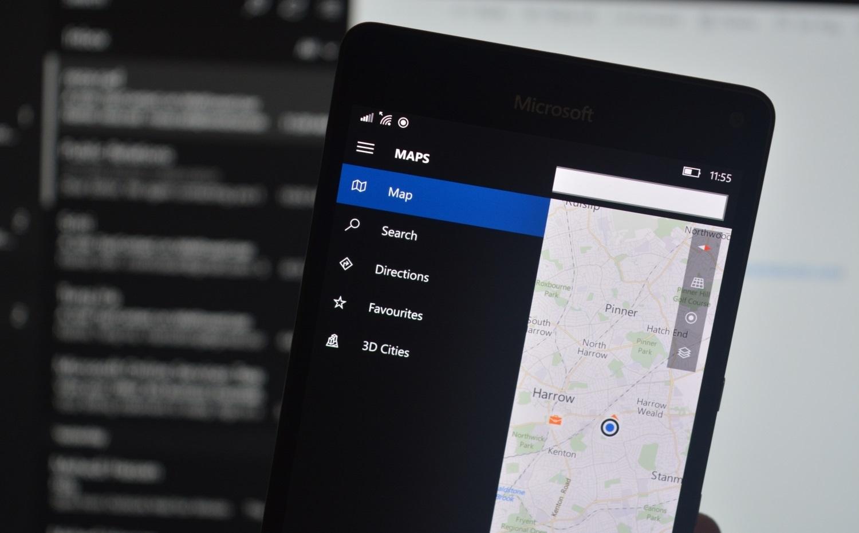 Microsoft Windows 10 Навигация