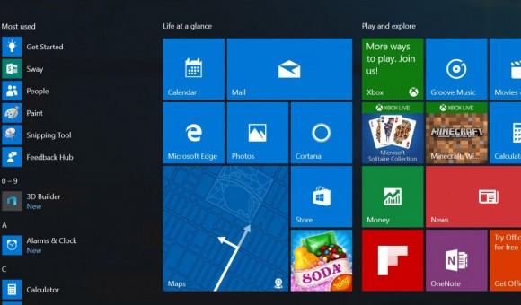 Microsoft планирует улучшить меню «Пуск» в Windows 10 Anniversary Update - главное фото