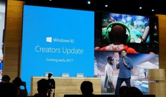 Microsoft выпустила обновление Creators Update для Windows 10