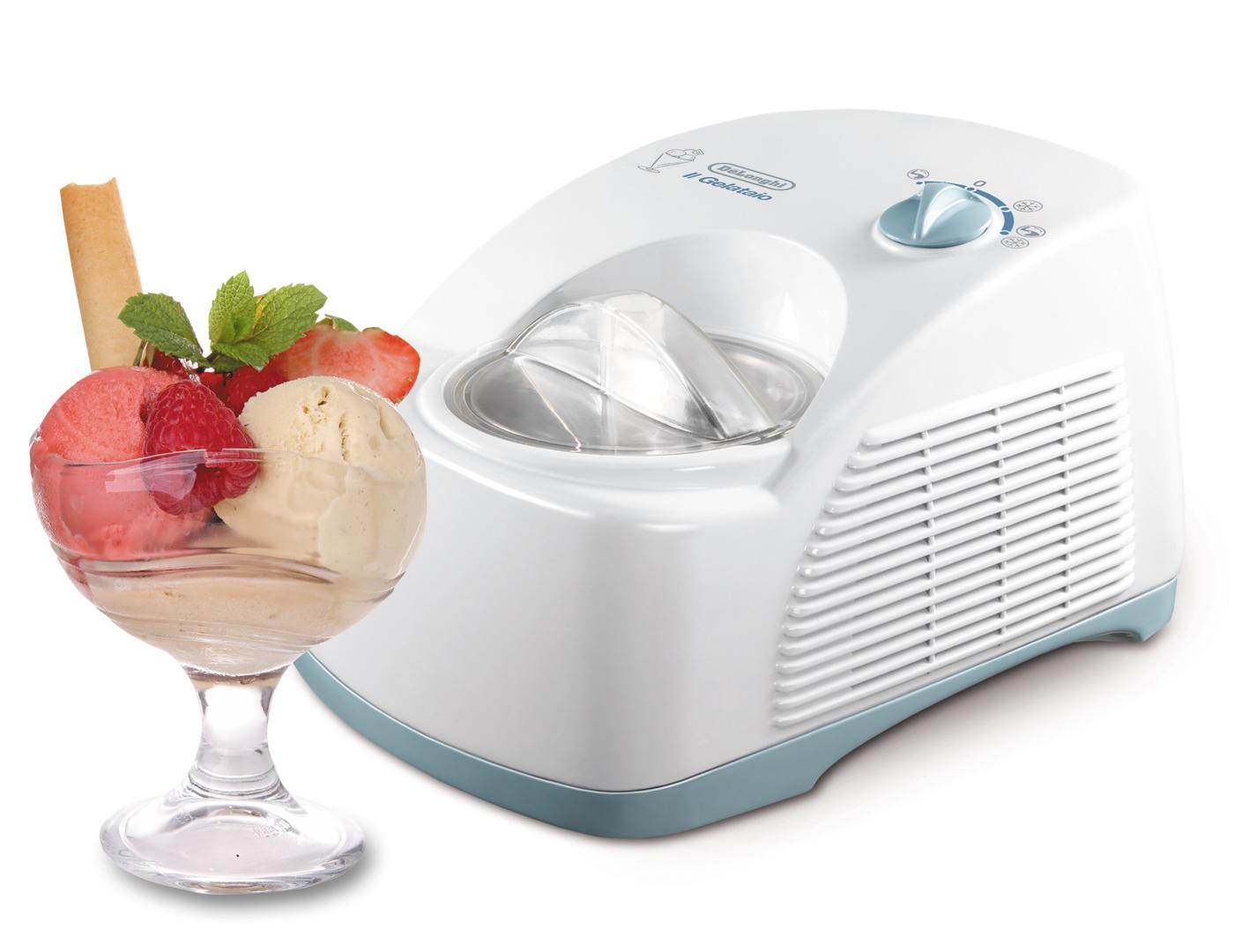 Мороженица De'Longhi ICK 5000 с мороженым