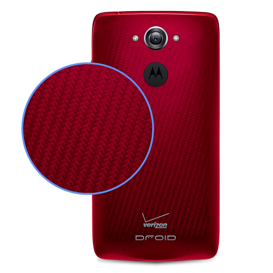 Motorola DROID Turbo - красный корпус