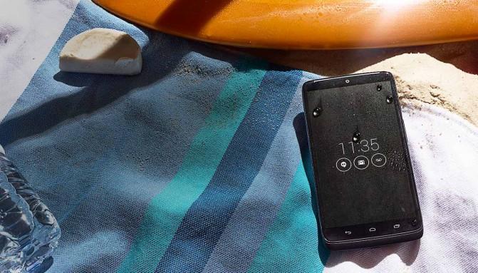 Motorola DROID Turbo - влагозащищенный корпус