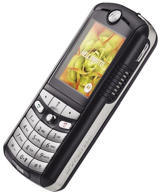 Motorola E398 – музыкальный телефон от Motorola