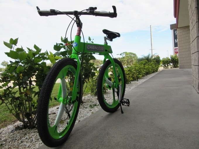 На Kickstarter собирают деньги на велосипед без цепи – фото 3