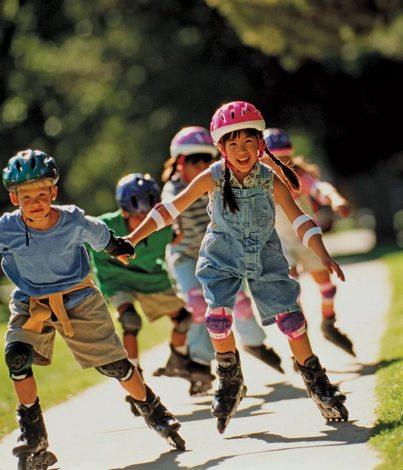 Наилучший вариант для обучения езде - это ролики фитнес