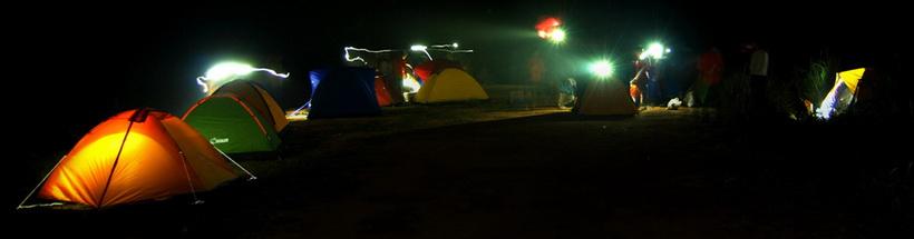 Налобные фонарики-в походе