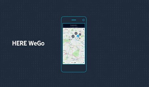 Навигационный сервис HERE Maps переименовали в HERE WeGo