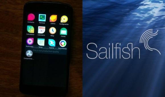 Sailfish OS официально доступна для Nexus 4