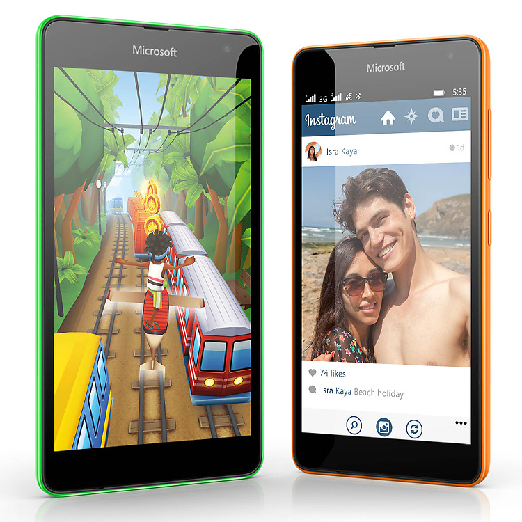 Nokia Lumia 535-Приложения