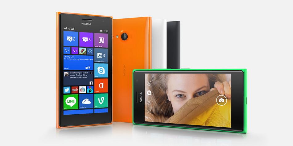 Nokia Lumia 730-расцветки