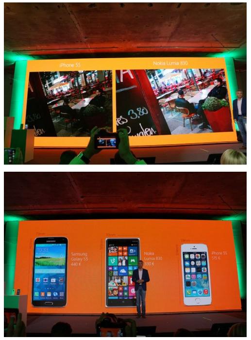Nokia Lumia 830-презентація
