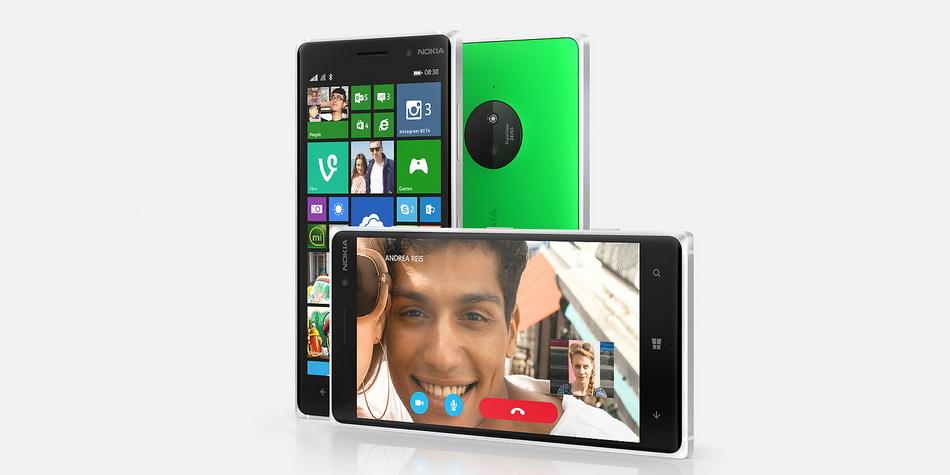 Nokia Lumia 830-ракурсы