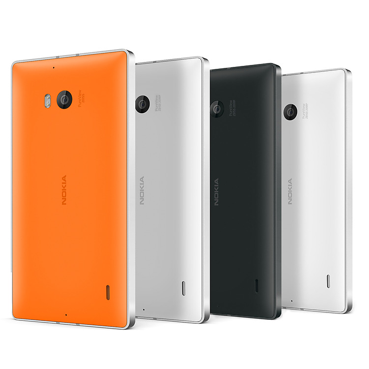 Nokia Lumia 930 - вид сзади