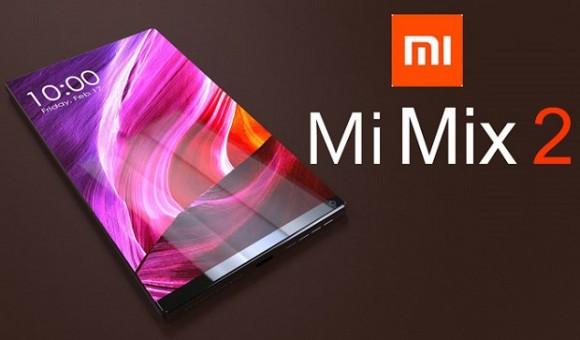 Новые 3D-рендеры смартфона Xiaomi Mi Mix 2