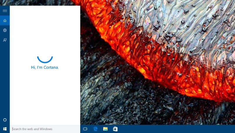 Вы можете активировать Cortana