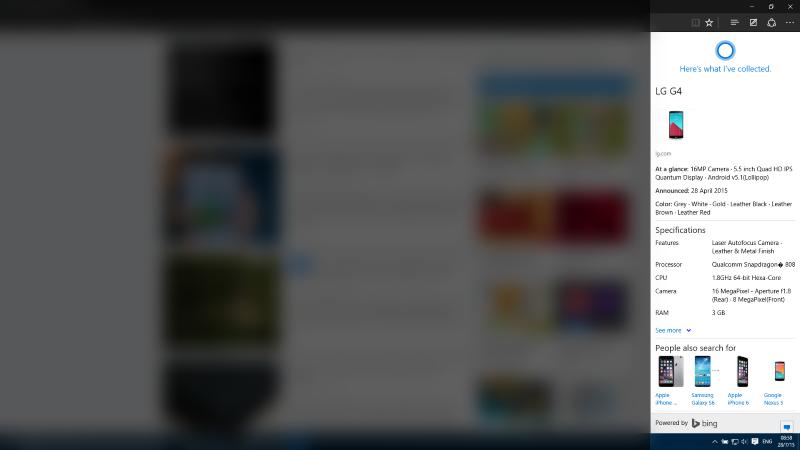 Адресная строка Microsoft Edge