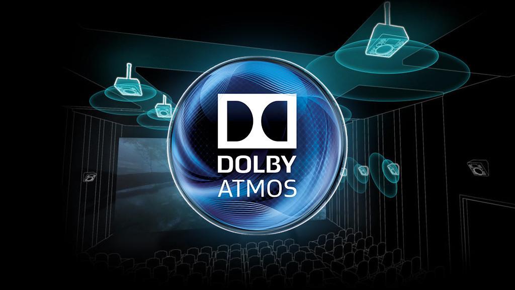Обзор Xiaomi Mi TV 4 ультратонкий модульный телевизор – Логотип Dolby Atmos