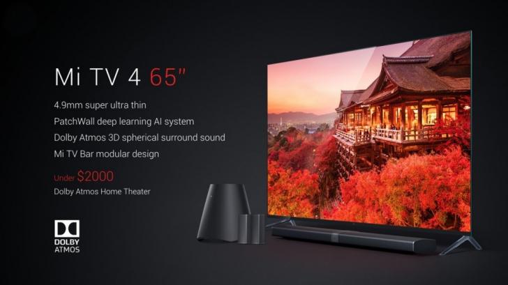 Обзор Xiaomi Mi TV 4 ультратонкий модульный телевизор – Цена Xiaomi Mi TV 4
