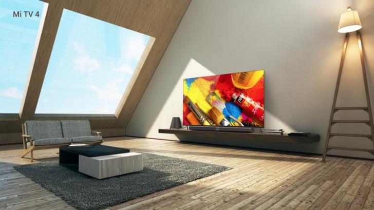 Обзор Xiaomi Mi TV 4 ультратонкий модульный телевизор – Xiaomi Mi TV 4 в интерьере