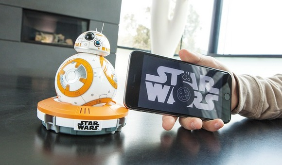 Обзор робота из Звёздных войн Sphero BB-8 - главное фото