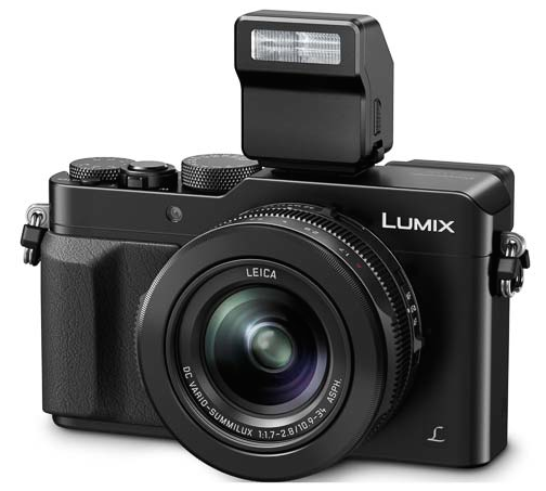 Panasonic Lumix DMC-LX100-вид спереди