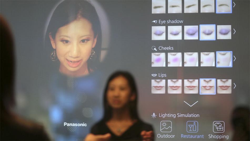 Panasonic-умное зеркало