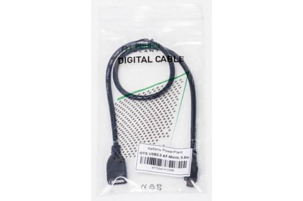PowerPlant OTG USB 2.0 AF - Micro, 0.5м KD00AS1233