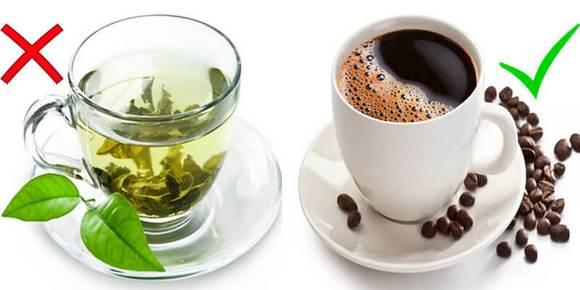 Правильный выбор - чай или кофе